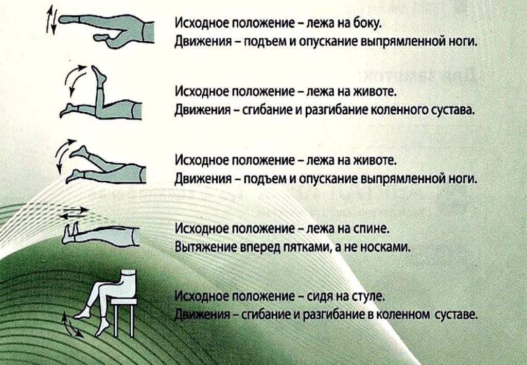 Гимнастика для лечения артроза коленных суставов