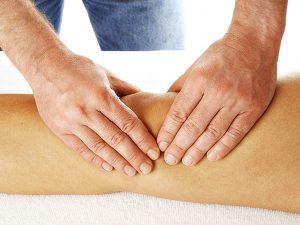 massag kolena